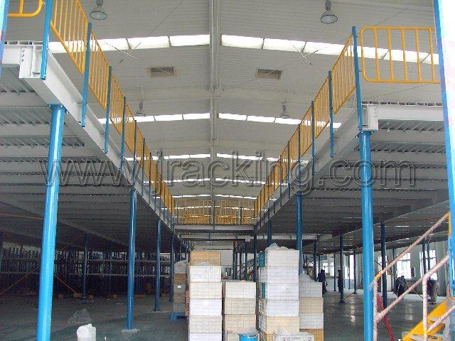 Het platform van het staal mezzanine vloer pm013 foto auf de made in - Mezzanine foto ...