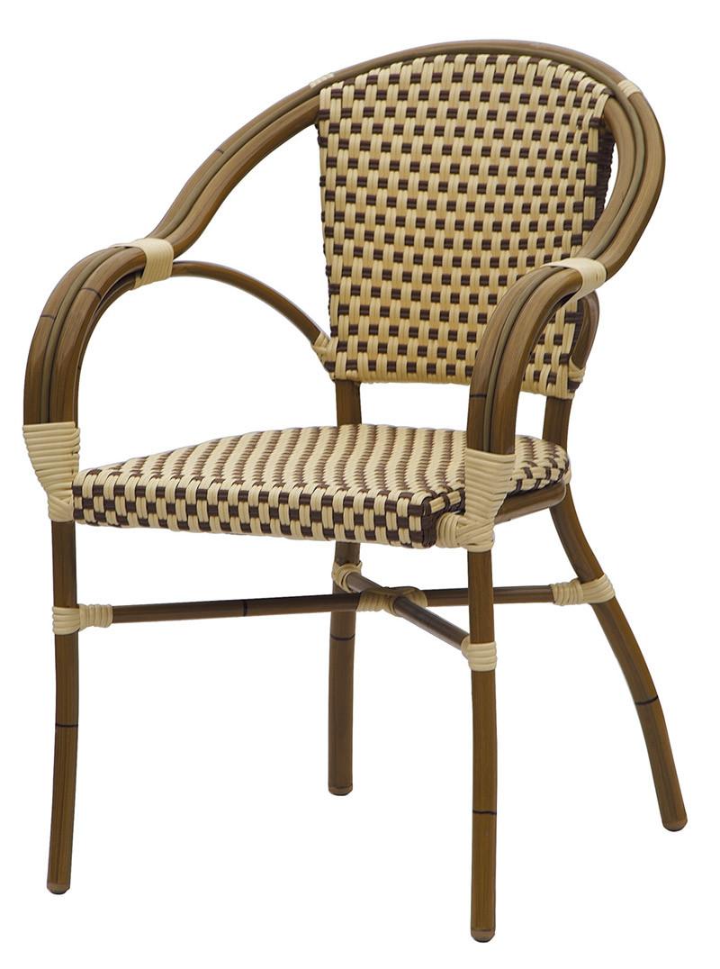Chaise de jardin en bambou ext rieure de rotin de regard for Prix chaise en rotin