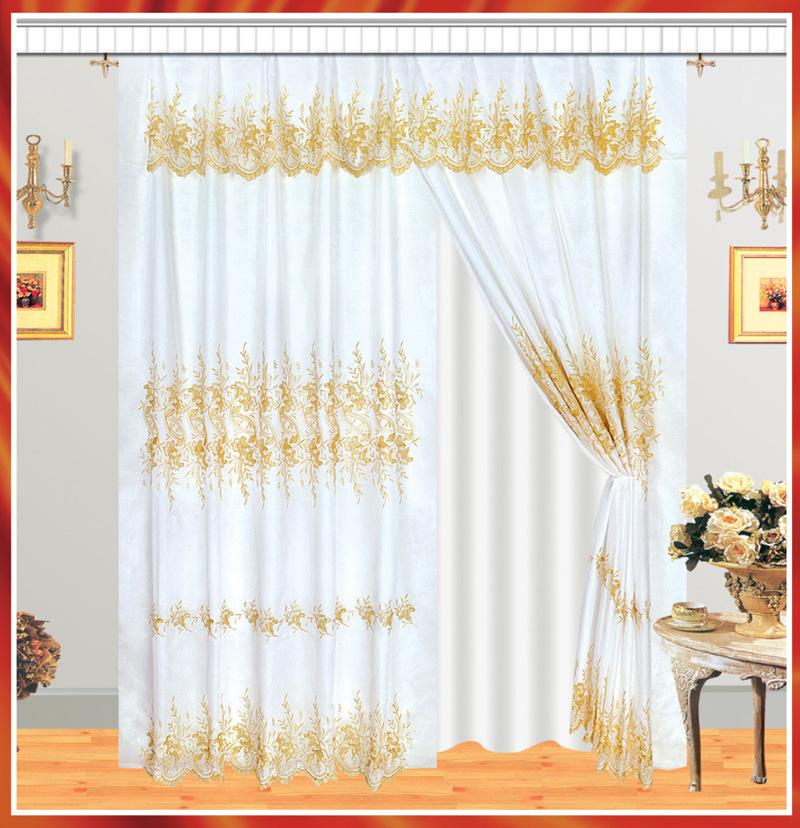 Cortina 3 del bordado cortina 3 del bordado - Precio de cortinas ...