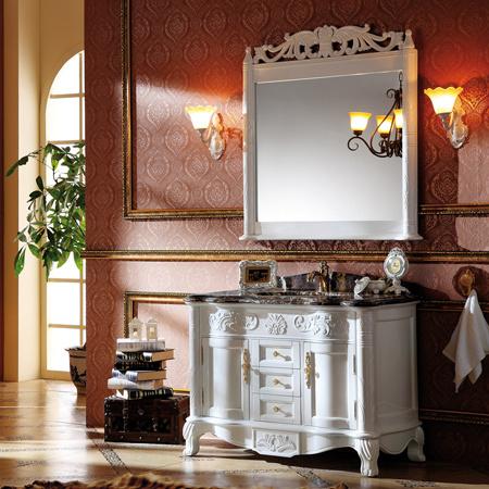 Muebles de madera del ba o muebles antiguos cl sicos del for Muebles de cuarto de bano antiguos