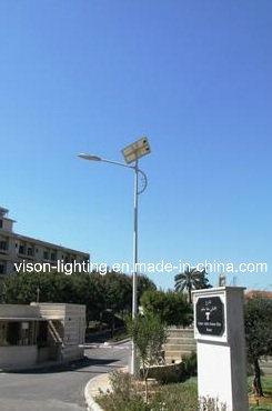 Alumbrado p blico solar poste de los 8m 100w led for Alumbrado solar jardin