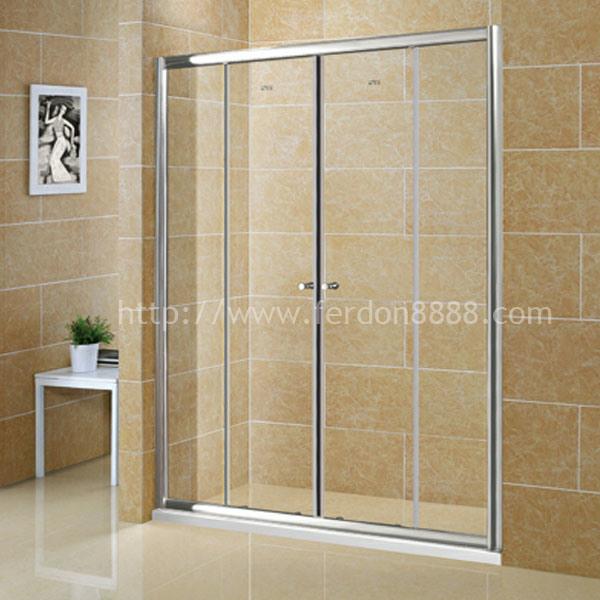 Cuarto de ba o de aluminio de la ducha del marco vp4 for Ver cuartos de bano con ducha
