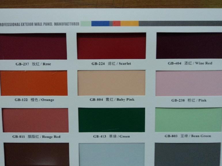 Aluminium enduit de couleur pour le plafond en aluminium avec l 39 enduit du - Couleur de l aluminium ...
