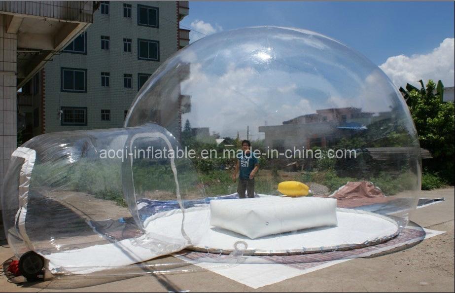Bulle gonflable de l 39 espace bulle transparente de l 39 espace bulle go - Tente bulle transparente ...