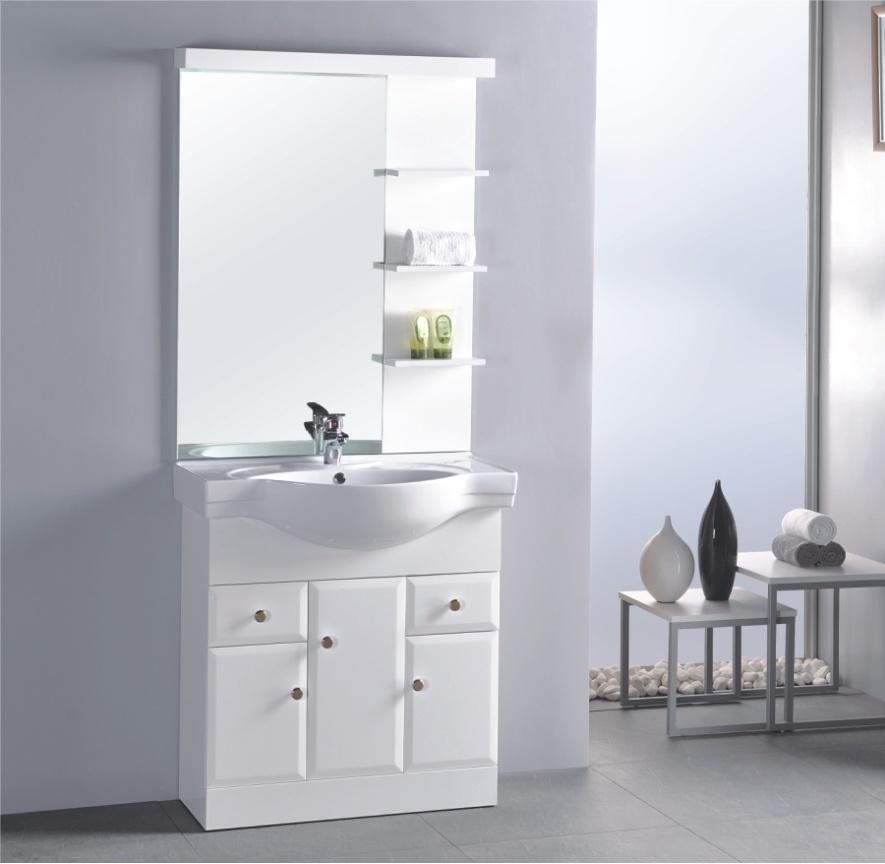 Armário de banheiro do PVC (OSL889912345) –Armário de banheiro do PVC (O -> Armario Para Banheiro Pvc