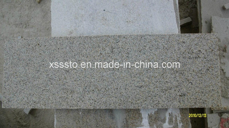 Azulejos r sticos amarillentos del amarillo del granito a for Precio del granito por metro