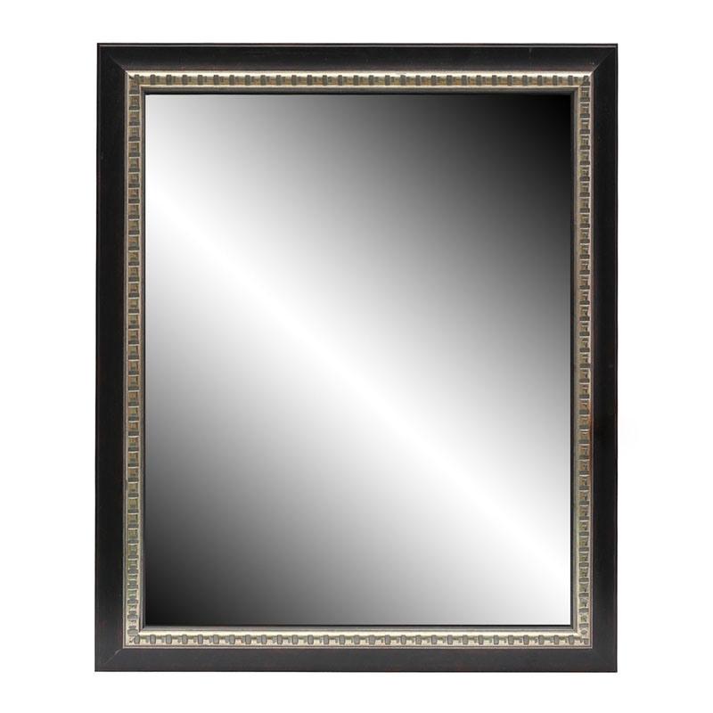 Marco de cristal del espejo elegante marcos coloreados for Espejo marco cristal
