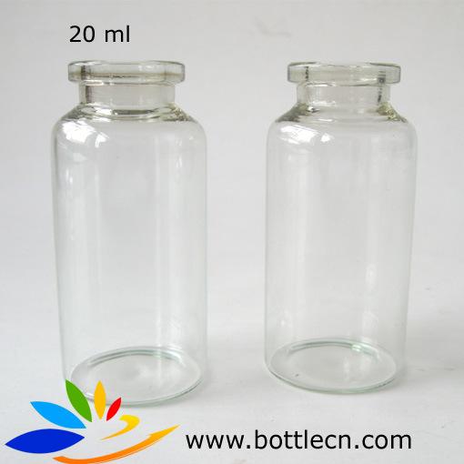 frasco claro estril de la botella de cristal 20ml frasco del vidrio de la inyeccin frasco claro estril de la botella de cristal 20ml