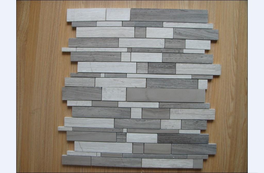 Mosaico de m rmol de madera mosaico de m rmol de madera - Mosaico de madera ...