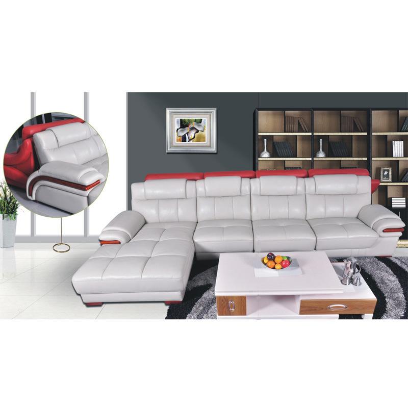 Muebles de cuero seccionales modernos de lujo caseros for Muebles sofas modernos