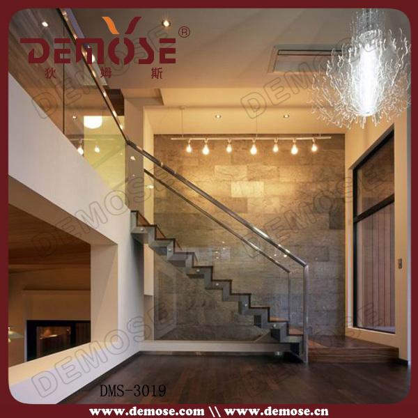 las escaleras de cristal de madera dms u las escaleras de cristal de madera dms por foshan demose hardware products co