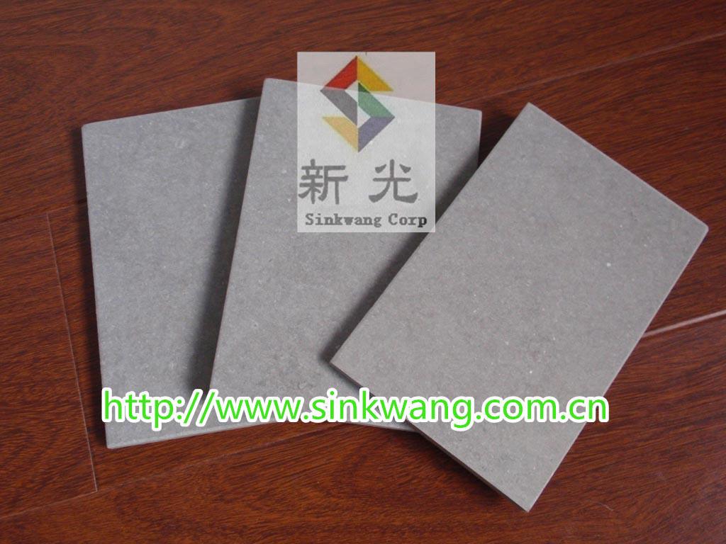 panneau libre de ciment de fibre de cellouse d 39 amiante. Black Bedroom Furniture Sets. Home Design Ideas