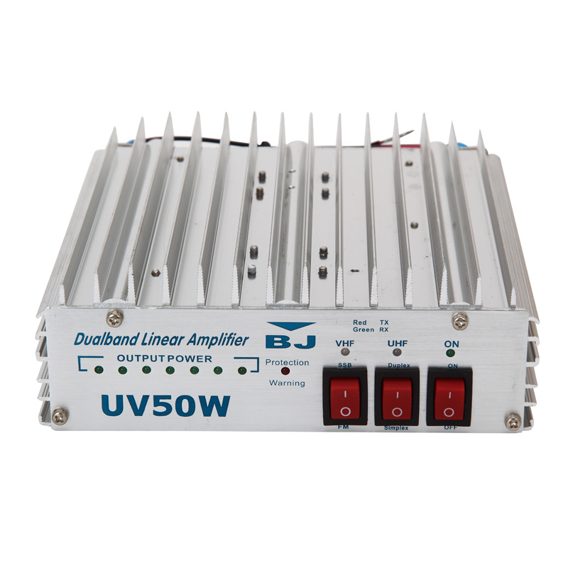 High-performance mini rf power amplifier uv-55am uhfamp;vhf 400-470mhz/vhf136-160mhz