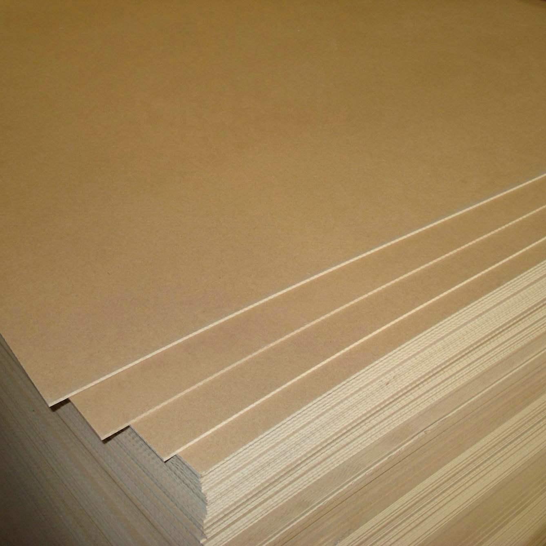 MDF 100% de Poplar Core 3mm Plain do certificado –ISO9001: 2008 MDF  #8D6E3E 1338x1338