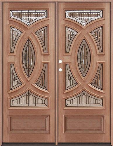 Puertas Dobles De Madera Good Diseos De Puertas Dobles De Madera