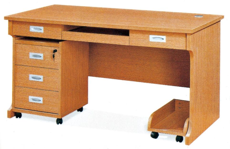 Escritorio de madera de la computadora hc 113 for Diseno de mesa de computadora