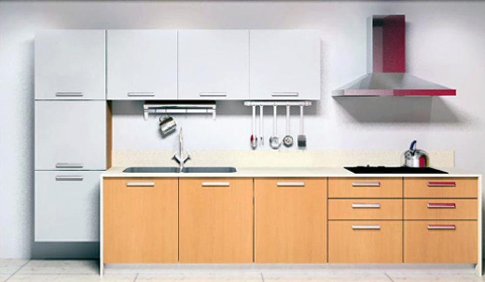 Alto gabinete de cocina del lustre ml 002 alto for Gabinetes de cocina en mdf