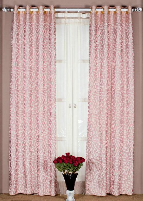 de roze gordijnen van de kleur de roze gordijnen van de