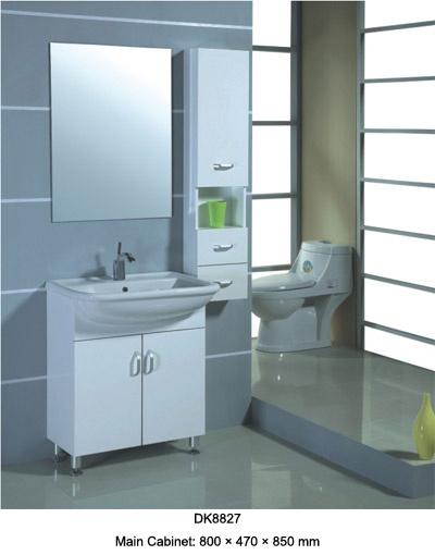 Armário de banheiro do PVC do carrinho do assoalho (DK8825) –Armário de banhe -> Armario Para Banheiro Pvc
