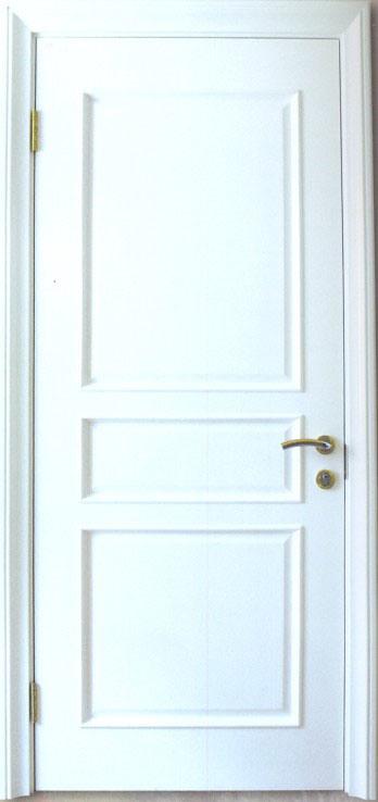 porte blanche de compos en bois plein porte blanche de