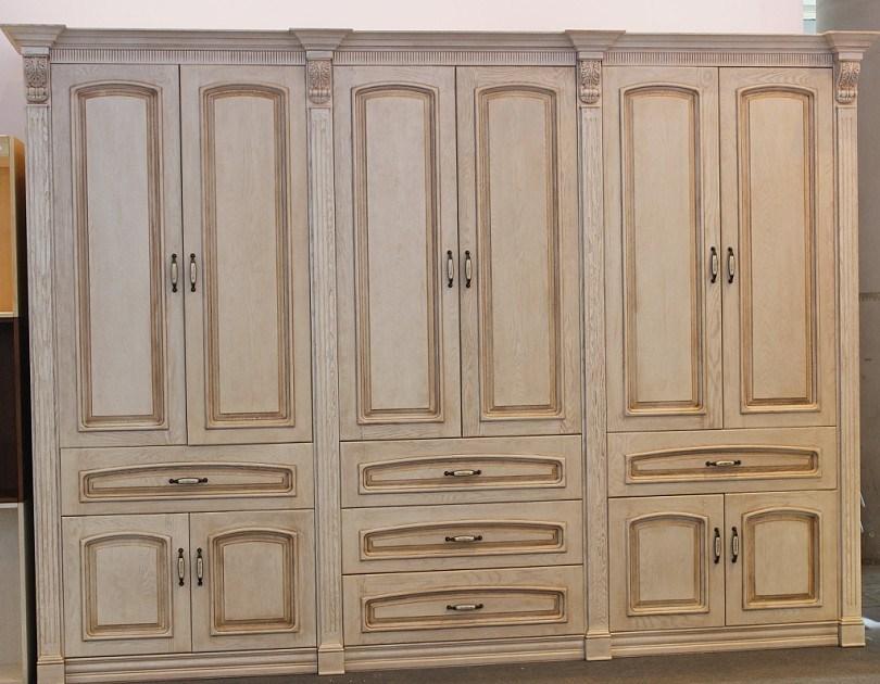 garde robe en bois plein meubles en bois de chambre coucher ybw 2 garde robe en bois. Black Bedroom Furniture Sets. Home Design Ideas