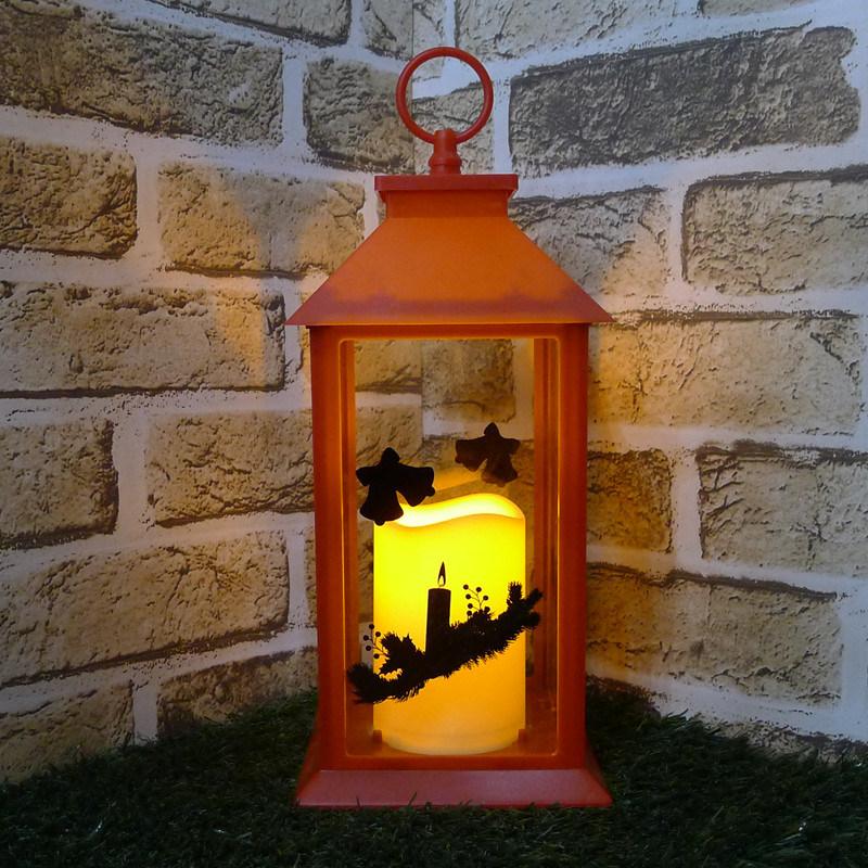 grande lanterne rouge en plastique de bougie de no l grande lanterne rouge en plastique de. Black Bedroom Furniture Sets. Home Design Ideas