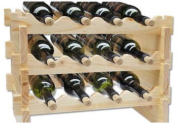 bouteilles en bois de support quatre de vin bouteilles en. Black Bedroom Furniture Sets. Home Design Ideas