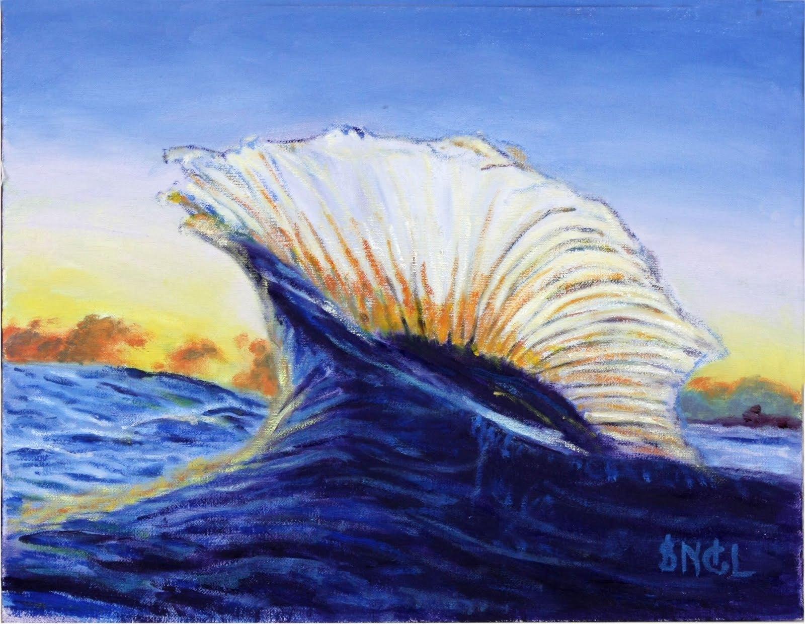 Peinture abstraite de paysage marin de couteau peinture abstraite de paysage - Peinture huile abstraite ...