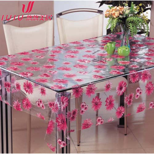 nappe transparente de pvc nappe transparente de pvc fournis par dongguan iuiu household. Black Bedroom Furniture Sets. Home Design Ideas