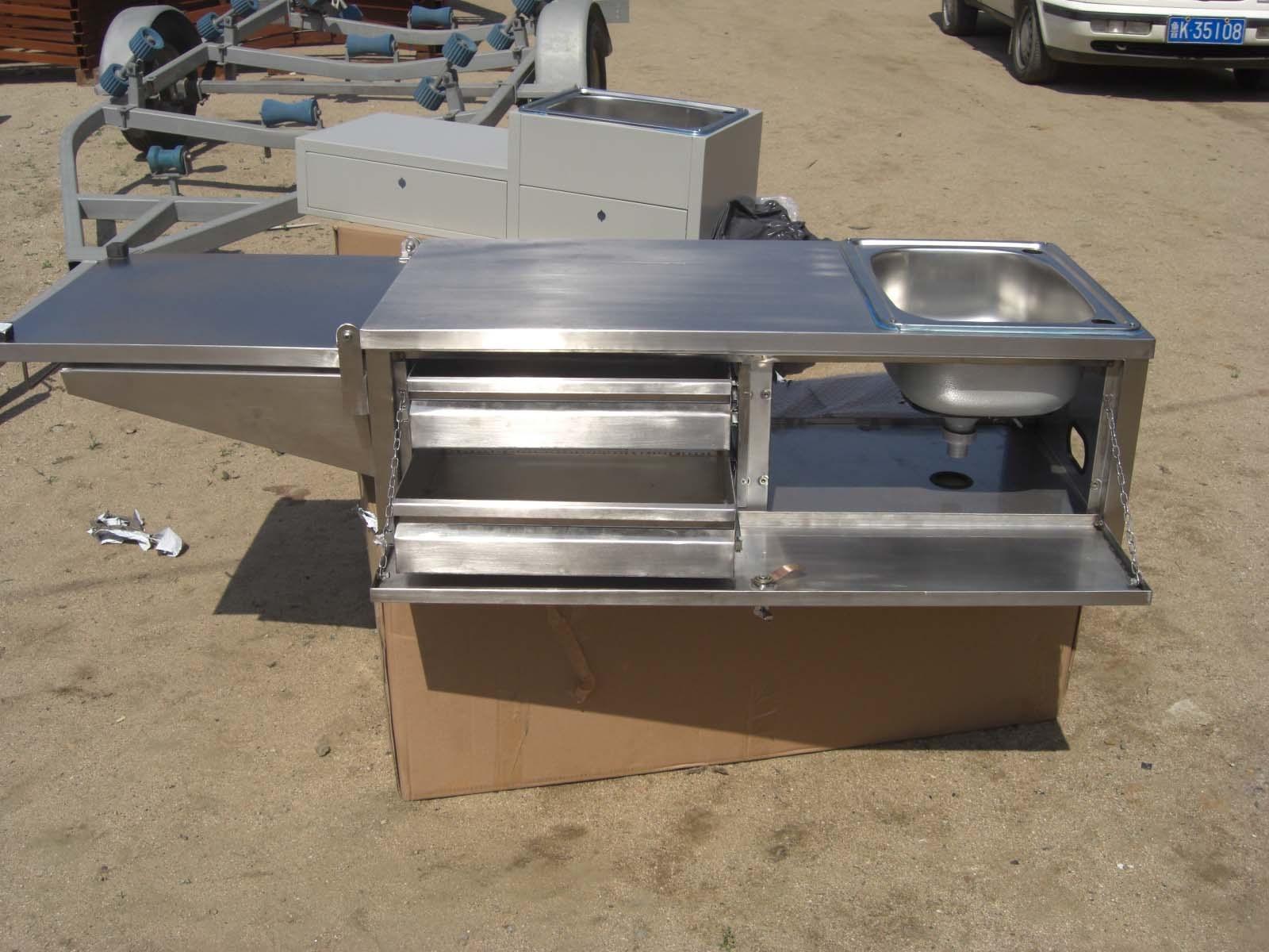 Cocina inoxidable al aire libre lh0001 cocina for Modelos de cocinas al aire libre