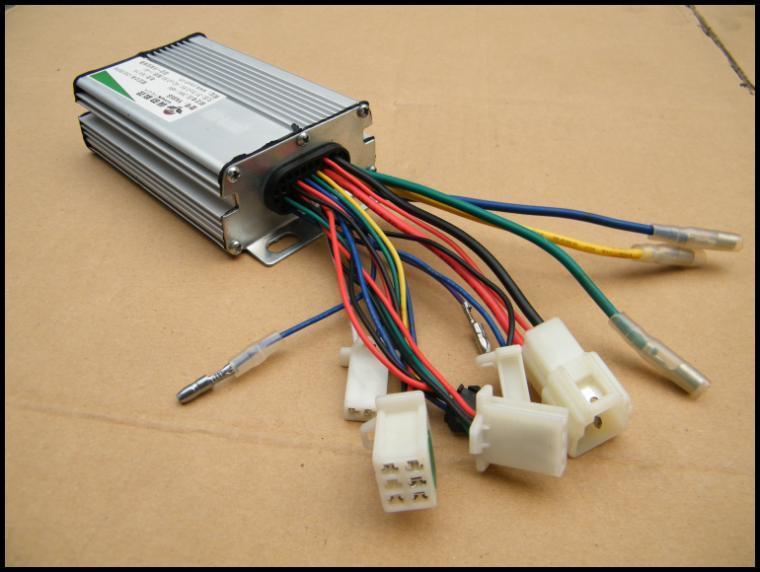 Diagramme lectrique lectrique de fil de scooter du contr leur 36v350w de yiyun yk85 - Controleur de consommation electrique ...
