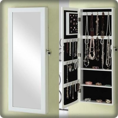 Muur opgezette het kleden zich van de spiegel spiegel 410301 muur opgezette het kleden zich - Opslag voor dressing ...