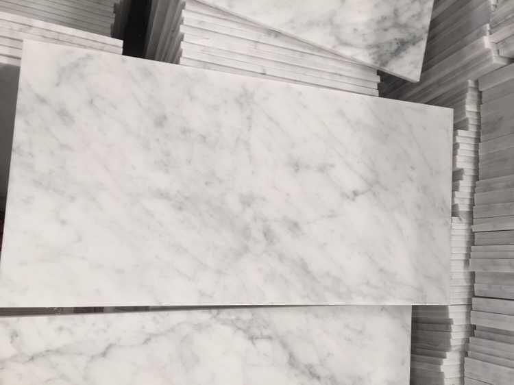 azulejo de mrmol blanco de carrara para el suelo