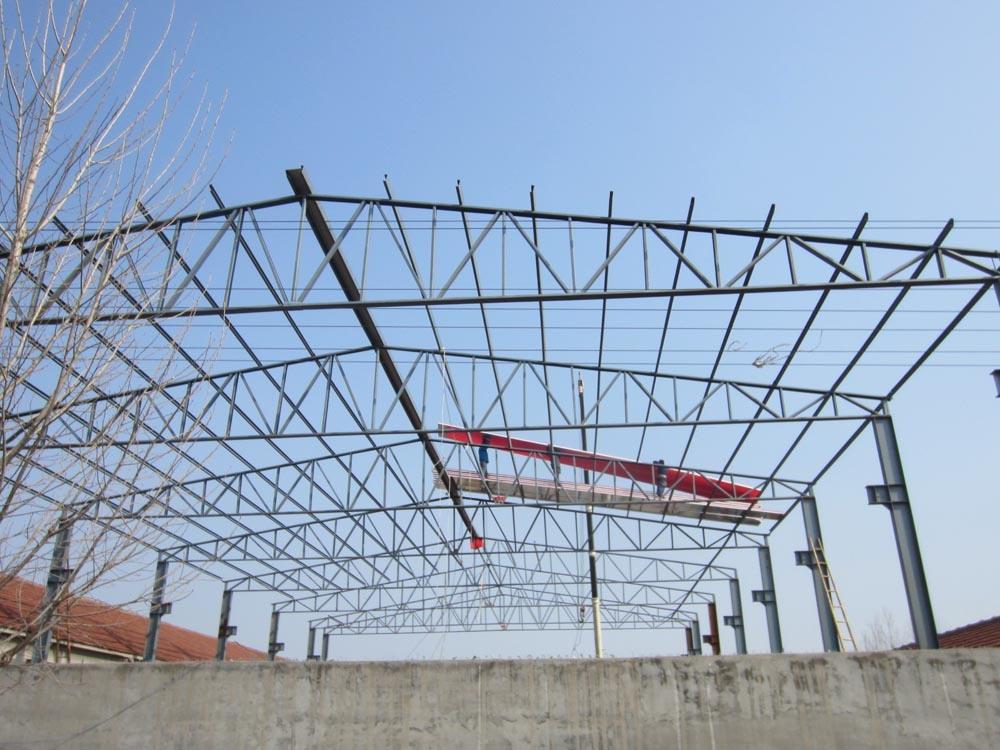 Estructura de acero de construcci n prefabricados - Estructura de metal ...