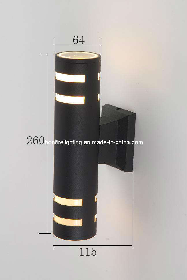 Arriba y abajo de la l mpara de pared exterior bo g2105 2 - Lamparas de exterior modernas ...