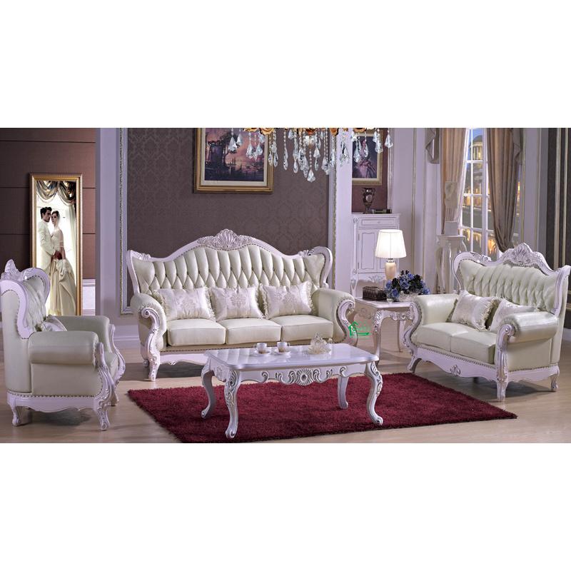 Foto de Sofá de madera para los muebles de la sala de estar (992D ...