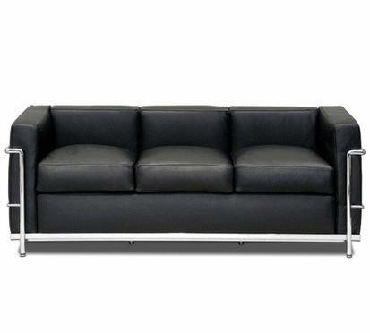 Bank (le-Corbusier-stoel-en-bank-Ei) – Bank (le-Corbusier-stoel-en-bank-Ei)do...