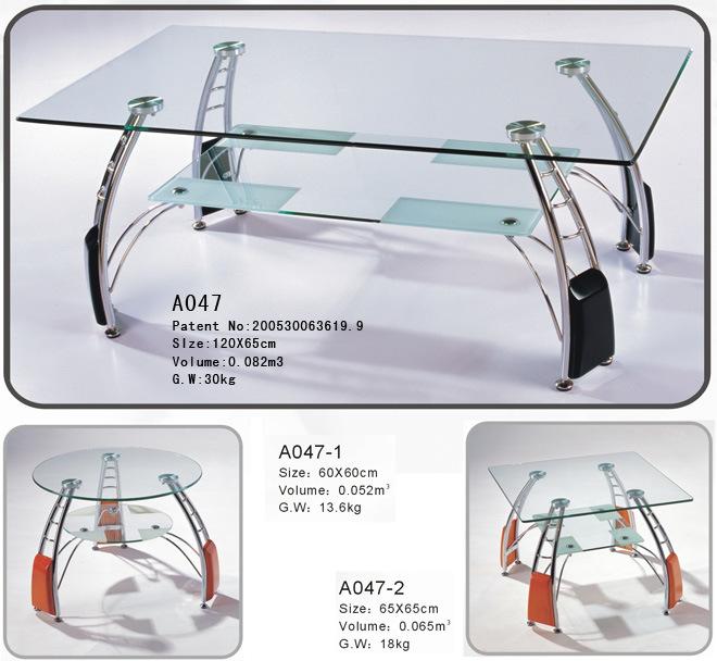 Mesa de centro de cristal del mueble vidrio para los - Centro nacional del vidrio ...