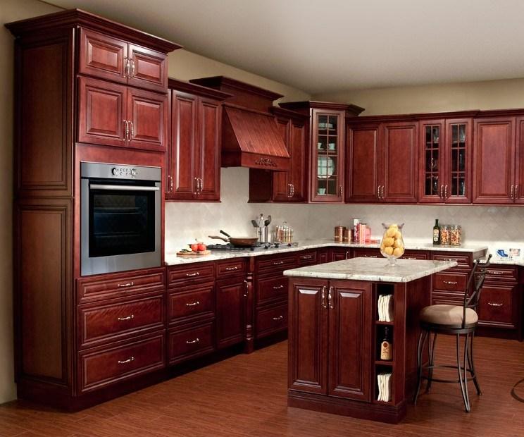 Gabinetes de cocina en madera caoba ideas for Ideas de gabinetes de cocina