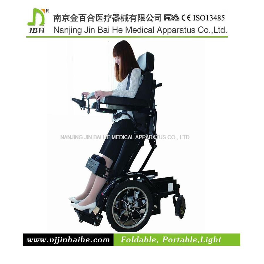 fauteuil roulant debout 233 lectrique de luxe pour l handicap 233 photo sur fr made in china