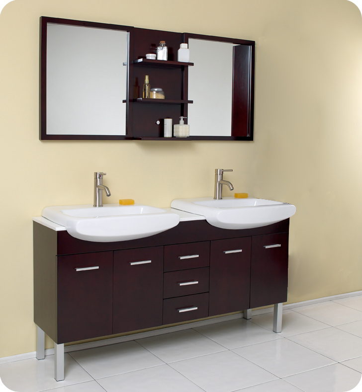 Gabinete para ba o madera for Gabinetes para bano en madera