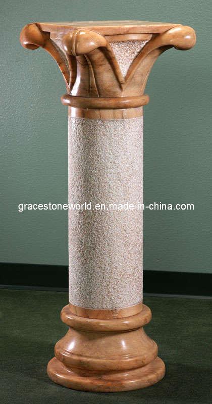 Columna de m rmol columna de piedra tallada columna de - Columna de marmol ...