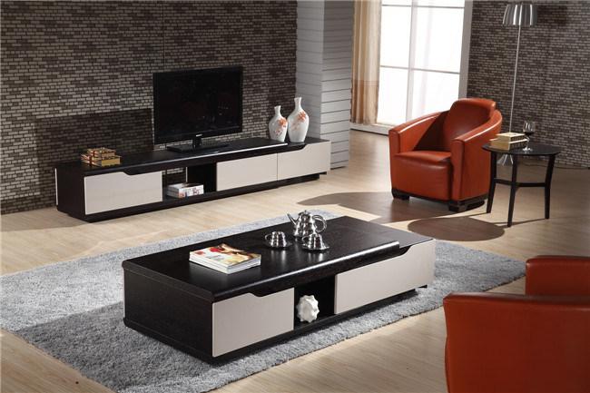Tavolino da salotto di legno moderno nero (cj 2021) foto su it ...