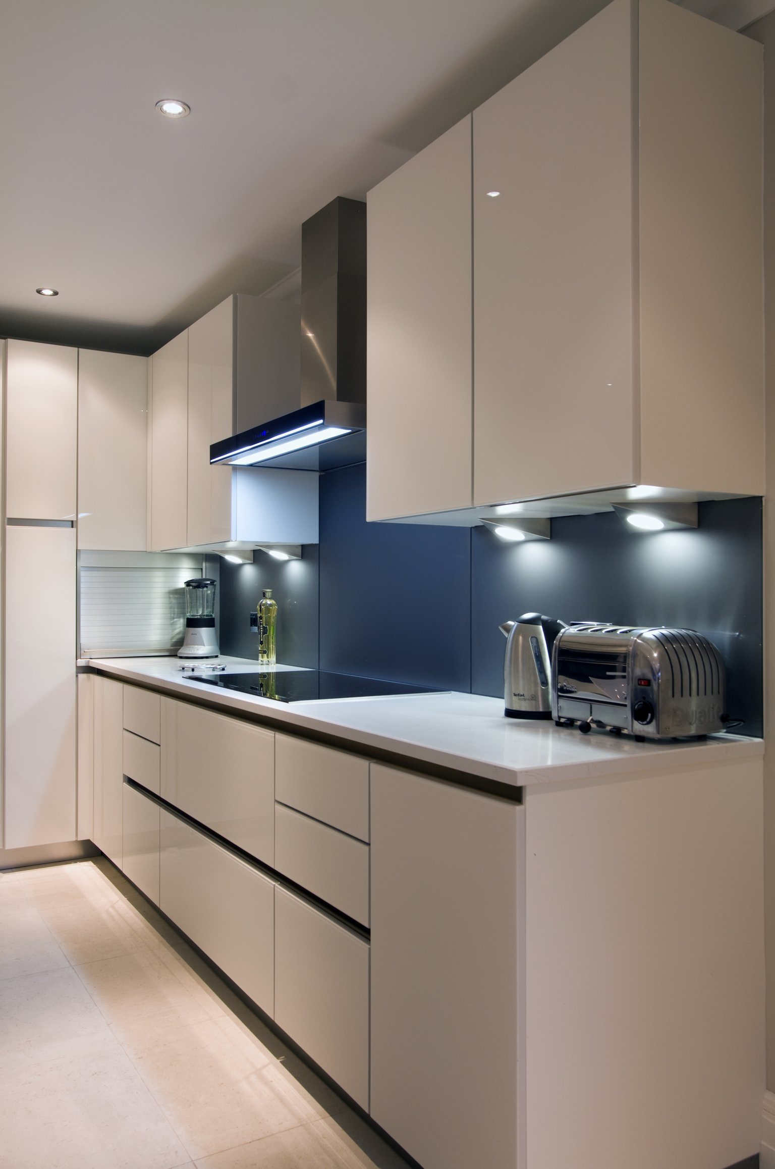 2014 armário de cozinha mobília lustrosa elevada moderna da cozinha  #35465D 1536 2315