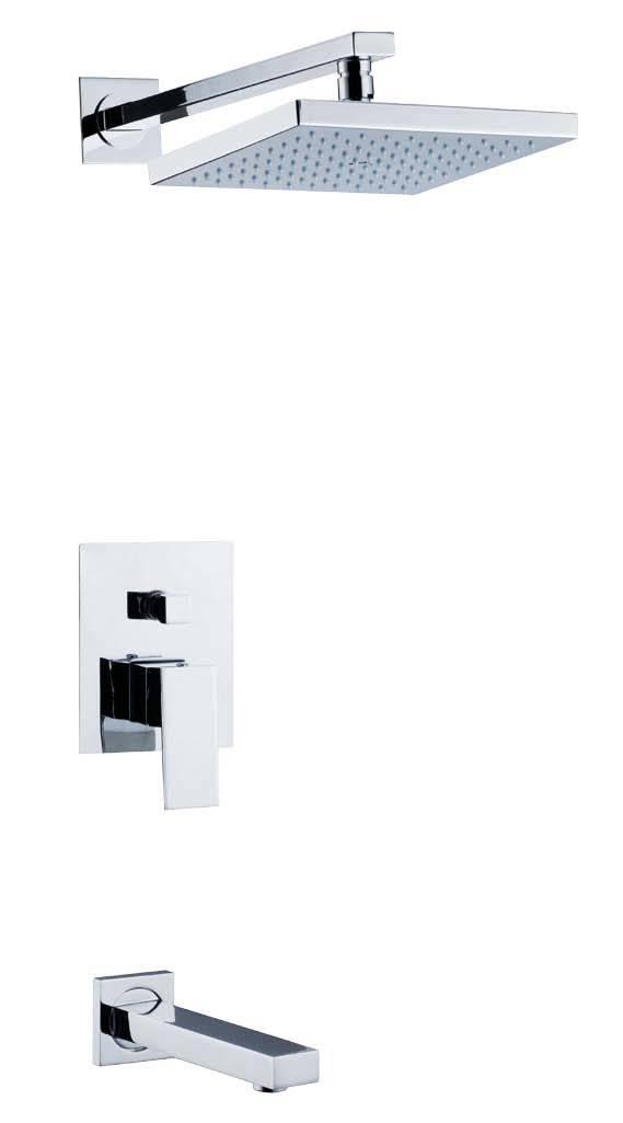 De vierkante muur zette de reeks van de douche op ba101 de vierkante muur zette de reeks van - Douchekamer model ...