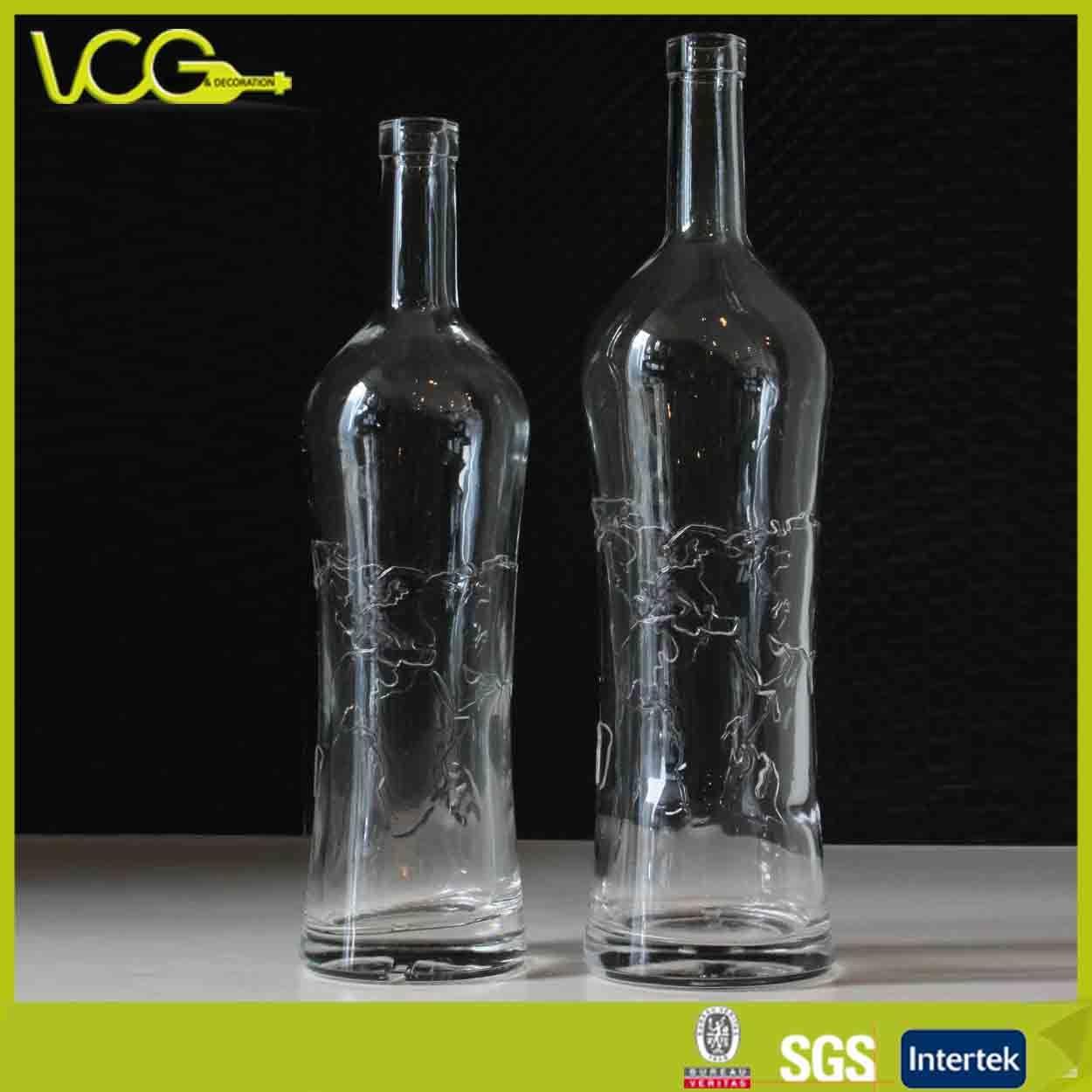 bouteille en verre personnalis avec relief carte et impression d 39 tiquettes bouteille en verre. Black Bedroom Furniture Sets. Home Design Ideas