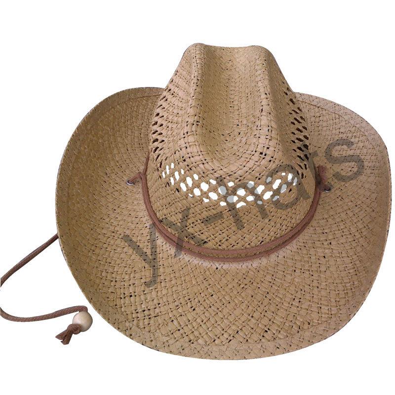 Соломенная шляпа из бумаги