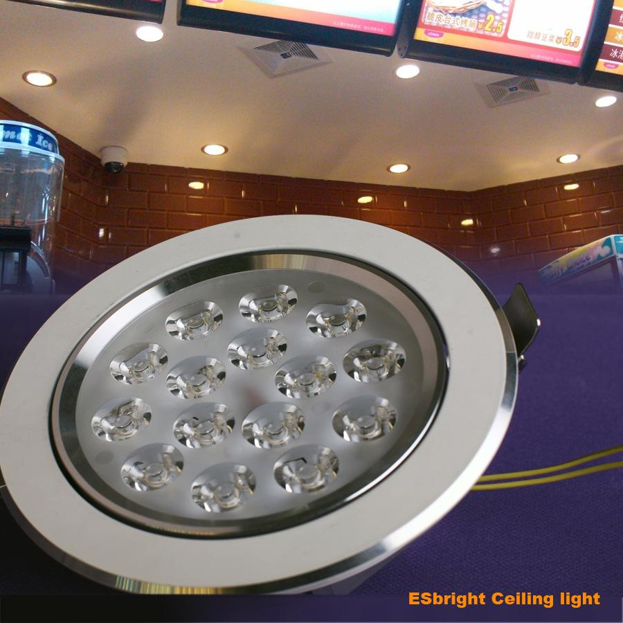 Luces de techo de 15w led iluminaci n sistema solutons de - Iluminacion de techo ...