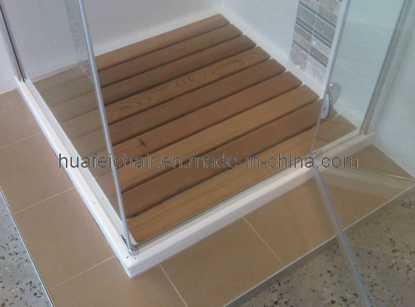 Houten badmat houten badmatdoortaizhou huafei electrical co ltd voor nederland - Douche decoratie ...