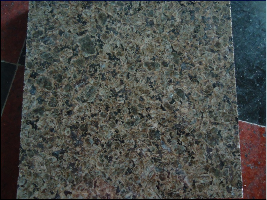 Azulejo del granito losa del granito verde de chengde for Granito color verde